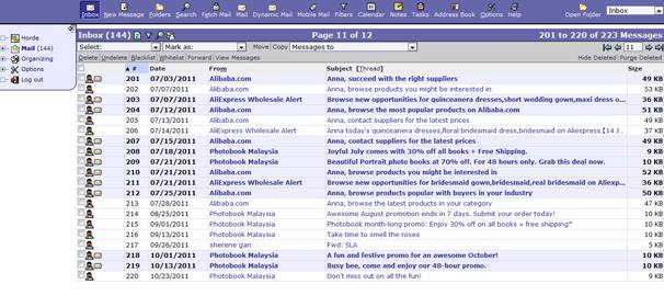 WEBMAIL COMPARISON : Squirrelmail , Roundcube & Horde | Tech Discussion