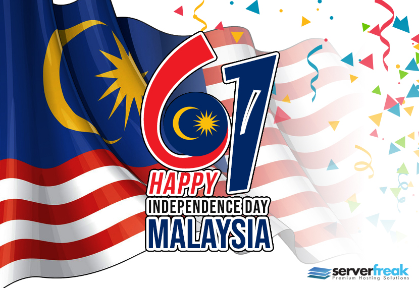 Happy 61st Independence Day Malaysiaku!